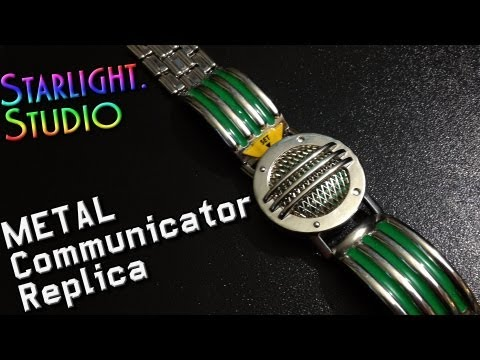 Starlight.Studio's METAL Power Rangers Communicator Replica Review