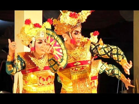 Tari Legong Bapang Saba - Cross Gender - Balinese Classical Dance [hd] video