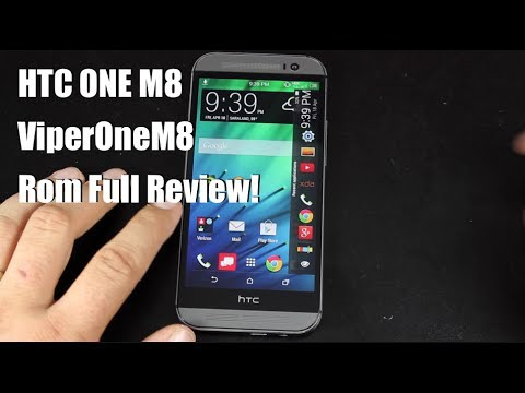HTC One M8 ViperOne Rom [FULL REVIEW]