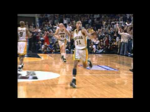 Reggie Miller's Game-Winner Against Bulls in 1998
