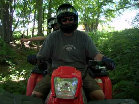 ATV  Ride in  Vermont.