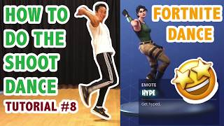 How To Do The Hype Dance *Fortnite* aka Shoot Dance (Simple Dance Tutorial #8) | Learn How To Dance