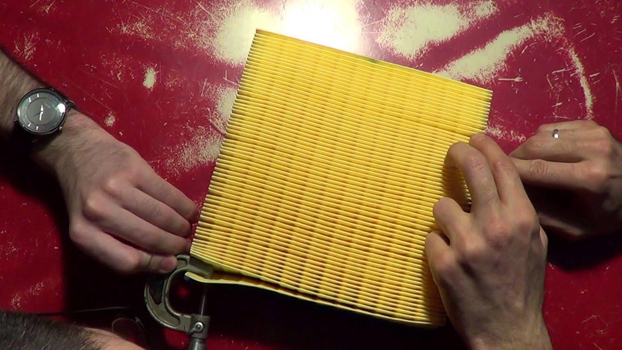 Замена воздушного фильтра на приоре своими руками