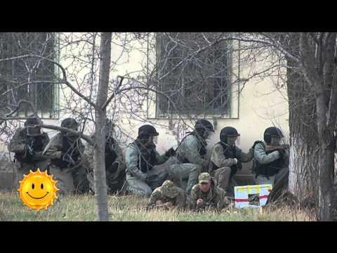 Как тренируется спецназ в Алматы (24.11.15)
