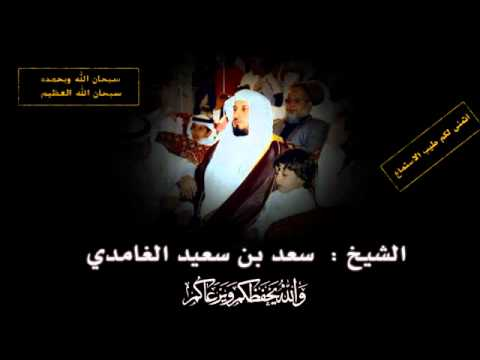 ‫سورة الملك - سعد الغامدي  Quran Karim Sourat Al - Mulk Saad Alghamidi video