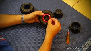 Pro-Line HOW-TO: Mount Short Course Bead-Loc Wheels