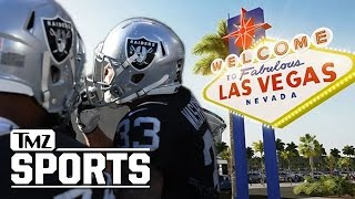 Oakland Raiders 'Officially File Paperwork' To Move To Vegas | TMZ Sports