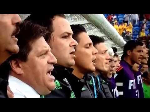 Mexican National Anthem-mexico Vs. Cameroon-fifa World Cup 2014 video