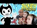 PBT Fidget Spinners! Bendy and the Ink Machine Twin Toys Kids Jumpscare
