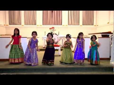 Telugu Christian Children Songs - మన తండ్రీ మన తండ్రి దేవుడు Mana Tandri - Uecf Children video