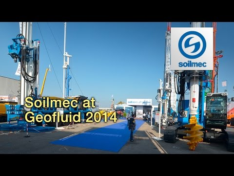 Soilmec at Geofluid 2014 International Exhibition and Conference of Technologies