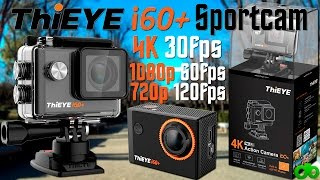 Sportcam ThiEye i60+ Cámara Deportiva 4K 30fps, 1080p 60fps Unboxing y Review + Sorteo AndroGeek