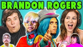 ADULTS REACT TO YOUTUBE STARS - BRANDON ROGERS