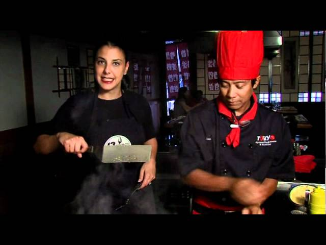 Teriyaki Chicken with Head Hibachi Chef Dax and Nadia From 12NEWS