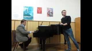 Мастер класс по вокалу. Виктор Александровский, Самвел Адамян