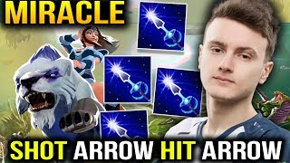 Miracle Mirana Shot Arrow Hit Arrow 69% Dota 2