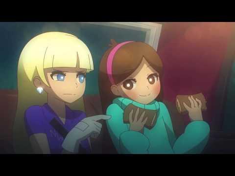 "E se ""Gravity Falls"" fosse um anime PT-BR"