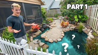 REMODELING My OLD BACKYARD!! (Part 1)