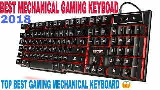 Top 10 best mechanical gaming keyboard 2018 | MOST expansive gaming keyboard (logitech, Razer, etc,)