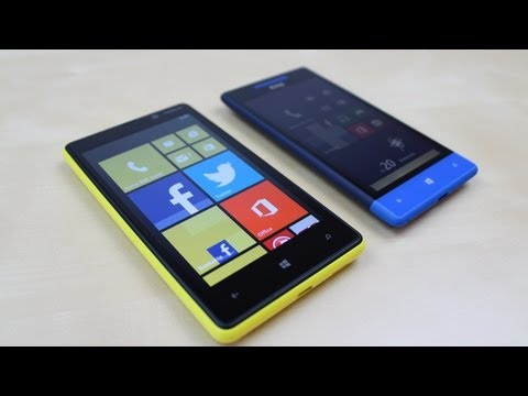 Nokia Lumia 820 vs. HTC 8S: Benchmark   SwagTab