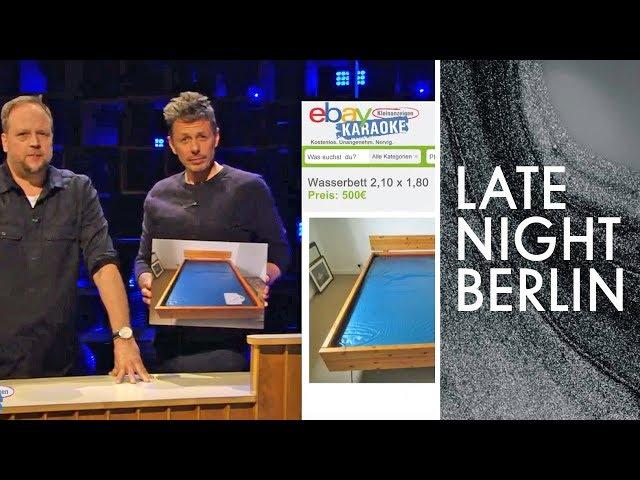 Ebay Kleinanzeigen Karaoke Smudo, Michi Beck und Klaas verhandeln  Late Night Berlin  ProSieben