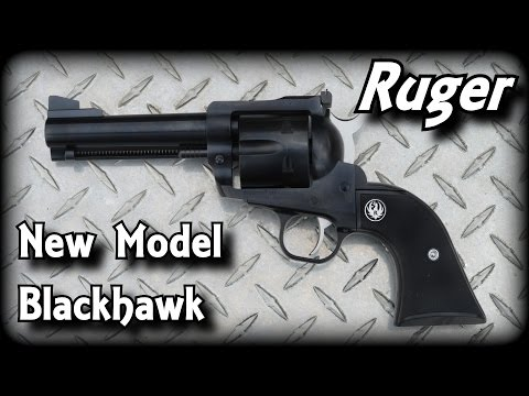 New Model Ruger Blackhawk .357 Magnum