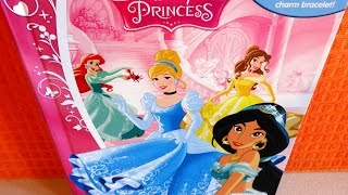 Disney Princess Movies Phidal Figures Collection & Storybook - Book & Toy