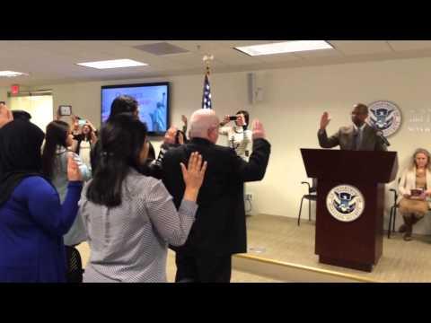 US Citizenship Oath Ceremony January 2015