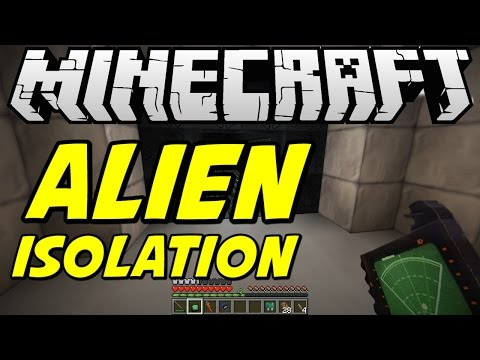 Minecraft Alien: A Crafters Isolation Part 1 Behind You