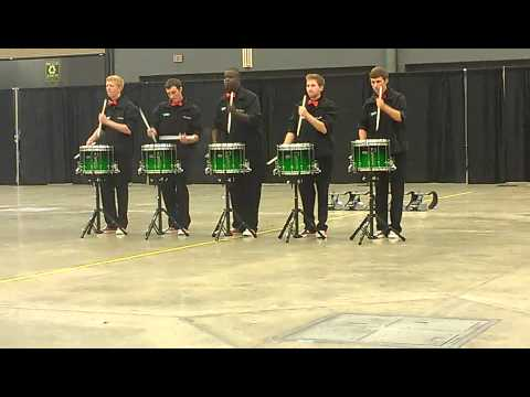 PASIC 2012 UNT snare ensemble