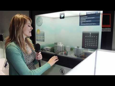 CES - Samsung's Smart Window