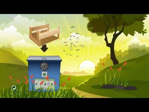 'Ahşap Ambalaj Atıklar Çöp Değildir' Çocuk Eğitim Videosu