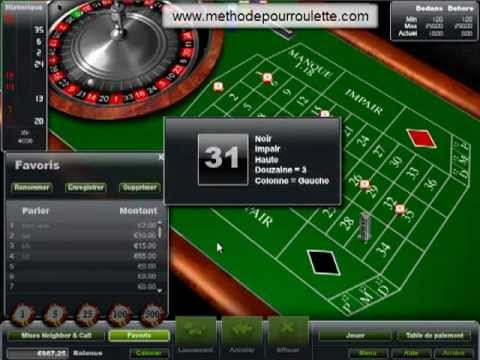 Ma nouvelle mthode pour gagner  la roulette