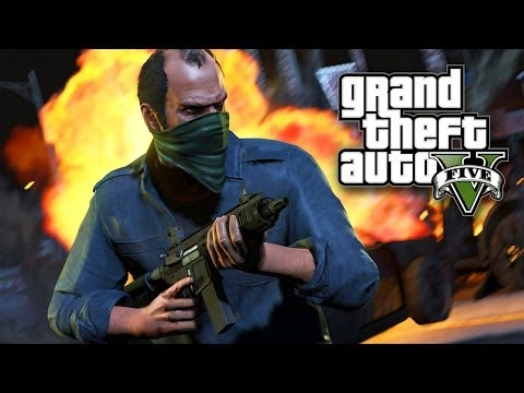 THE GETAWAY (Grand Theft Auto 5 Online)
