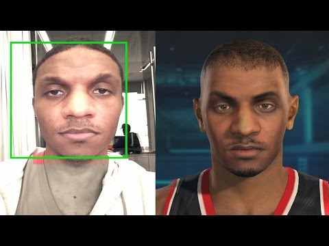 NBA 2K15 PS4 My Career - Opening Scene & Face Scan!