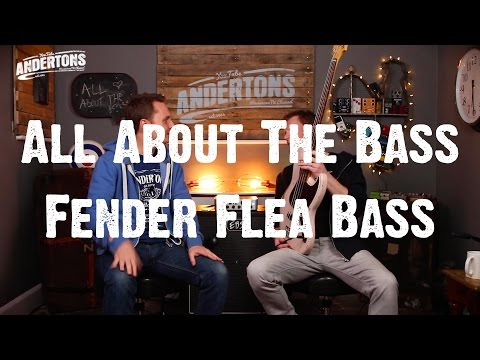 All About The Bass -  Fender Flea Signature Bass - IT'S RED HOT!