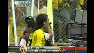 Goles Barcelona 3 Liga de Quito 0 Campeonato Nacional 2006