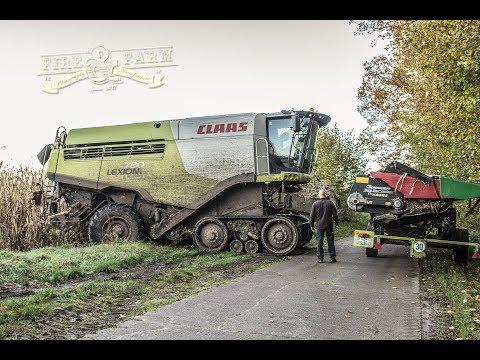 TRAILER | Claas Lexion 780 TerraTrac | 4K | Mais-Ernte | Im Dreck | LU Heidebrecht