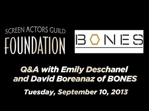 Conversations Emily Deschanel and David Boreanaz of BONES