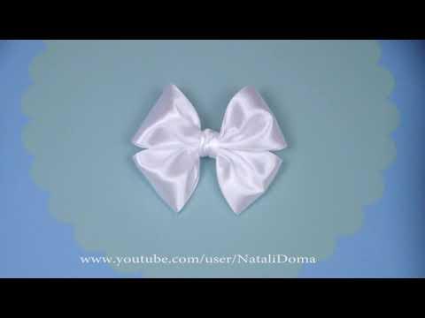Как сделать БАНТ ДЛЯ ВОЛОС / How To Make a Hair Bow / ✿ NataliDoma