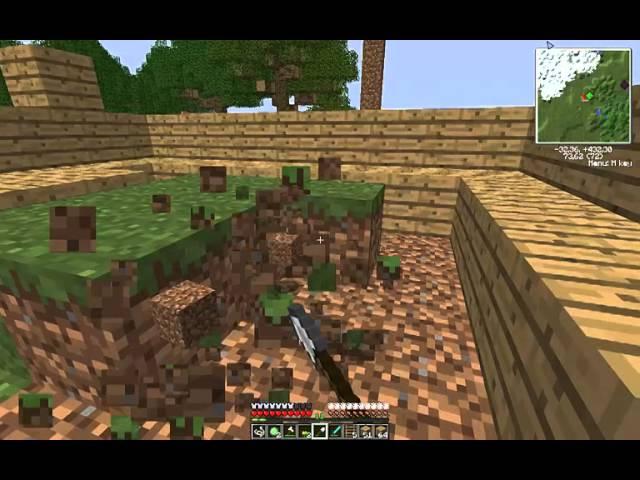Nicolas Minecraft CZ LP 3. díl Stavba Domečku