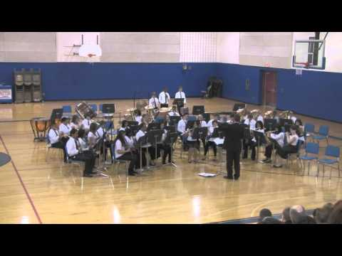 Patton Junior High School Advance Bands Winter Concert 2012, Part 3