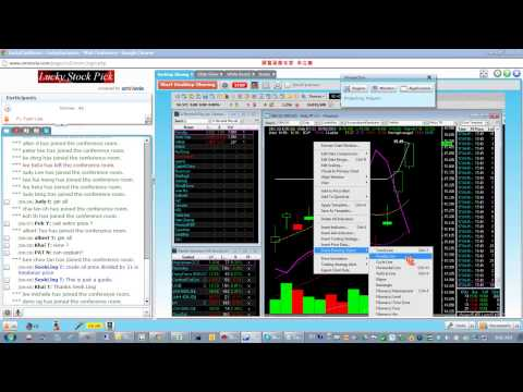 LuckyChartNChat Live Conference ---Singapore Stock Market Highlights for 2013 Mar 08