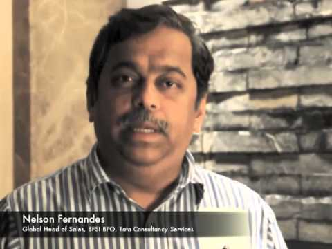 Testimonial by Nelson Fernandes, Global Head, Sales, BFSI BPO, Tata Consultancy Services