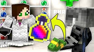 Minecraft: HOW TO BECOME A SCIENTIST!!! (CRAFT POTIONS & TIME TRAVEL!) Custom Map