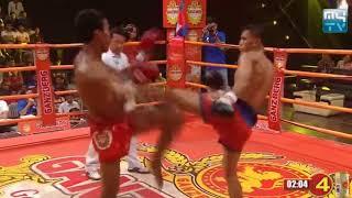 SOUN CHANNY VS MAISUT(THAI) || KUN KHMER 2018 || MYTV BOXING 01/06/218