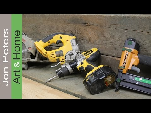 A few tips on the tools you'll need to start woodworking by Jon Peters
