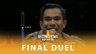 "Fazrun ""Loe To Ye"" I Final Duel 2 I Rising Star Indonesia 2016"