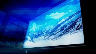 "The 120"" 4K Home Theater Setup"