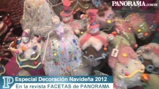 Especial Decoración Navideña Revista FACETAS, PANORAMA. 22-11-12.